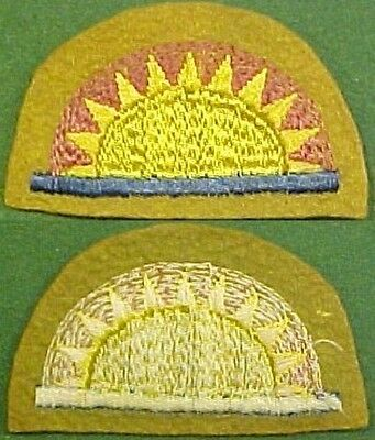 WWI 41st Infantry Division on Melton Wool Patch
