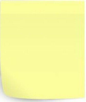 "NEW Office Self Sticky Post It Notes Lot 3"" x 3"" Yellow 100 Sheets 12 Memo Pads"