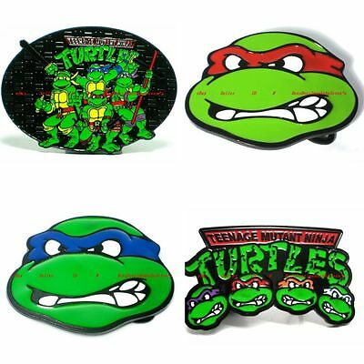 Hbum0132 Comic Hero Mask Turtle Fighter Cartoon Character Belt Buckle