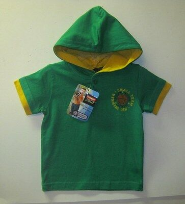 New W/t Wrangler Boys Green Hooded Top Sz 12M