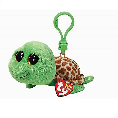 Ty Beanie Babies 36589 Boos Zippy the Turtle Boo Key Clip