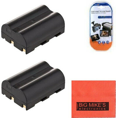 2 BP-511 BP511A Batteries for Canon Powershot G1 G2 G3 G5 G6 Pro 1 Pro90 IS