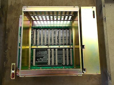 Fuji DC Power Supply CPS-10FB w. Yaskawa Chassis Rack JZNC-RK41-2 Used