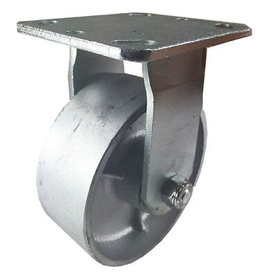 "5"" x 2""  Steel Wheel Caster - Rigid"
