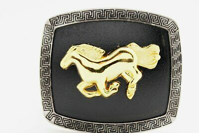 "New Shiny Gold Metal Fashion Buckle Big Tiger Panther 4.5""/1.75"" For Thin Belts"
