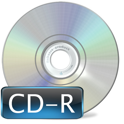 10 Premium CD-R 80Min 52X 700Mb Shiny Silver in Sleeves