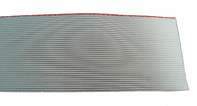 40 Conductor Gray Ribbon Cable: Sold Per Foot