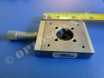 Newport / Micro-Controle MR50.16 Linear Translation Stage w/ Micrometer