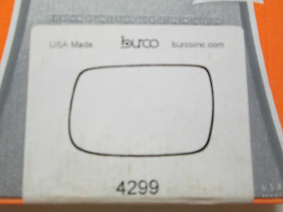 BURCO MIRROR GLASS # 4256 FITS 2009-2013 SUBARU FORESTER LEFT DRIVER SIDE