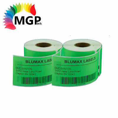 2 Compatible for Dymo/Seiko 99014 Green Label 54mm x 101mm Labelwriter450 Turbo
