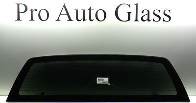 Fit 04-14 Ford F150 Stationary Rear Window Back Glass Heated W//Tape USA Made