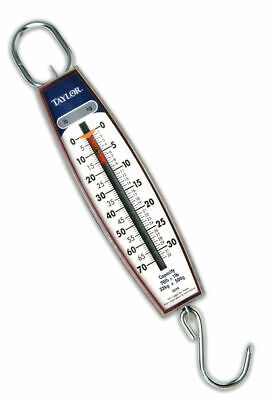 Taylor 3070 Industrial Vertical Hanging Scale W/ Hook 70 Pound / 32 KG Capacity