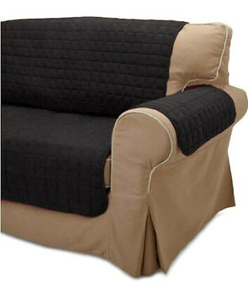 Outstanding 2 Pc Soft Micro Suede Couch Sofa Loveseat Slip Cover Brown Machost Co Dining Chair Design Ideas Machostcouk