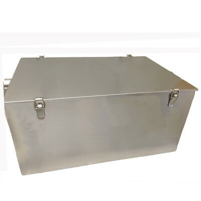 Grease Traps, Stainless Steel, 18 Kilo & Waste Filter, Fat Trap, Restaurant Size