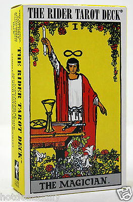 ORIGINAL FAMOUS RIDER WAITE 78 CARDS TAROT DECK PAMELA COLMAN SMITH ITALY NEW
