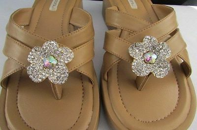 New Women Sandal Fashion Charm Set 2Pcs Shoe Flip Flops Clip On Flower Heart Bow