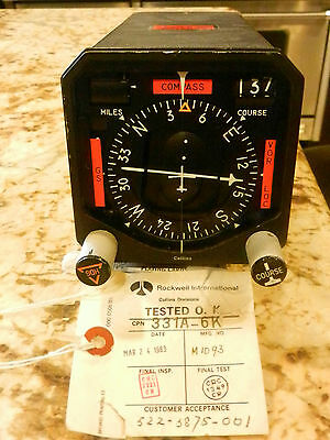 Rockwell International Collins Divisions 331A-6K Collins Indicator Course