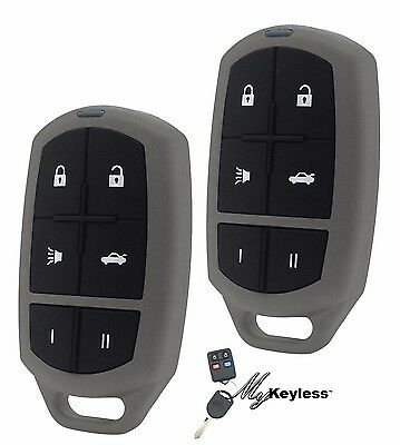 NEW TOYOTA REPLACEMENT KEYLESS ENTRY CAR REMOTE KEY FOB CLICKER - PAIR
