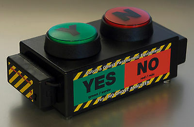 Ghost Hunting Paranormal Equipment YES / NO GHOST ANALYZER EMF Detector Meter