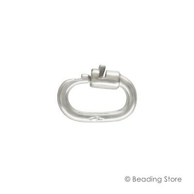 1 or 10 x 925 Sterling Silver Link Lock Locks Jump Rings Jumprings Attach Charms