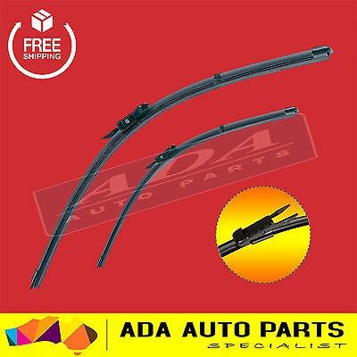 2 x Frameless Windscreen Wiper Blades For Holden Commodore VE SV6 Statesman