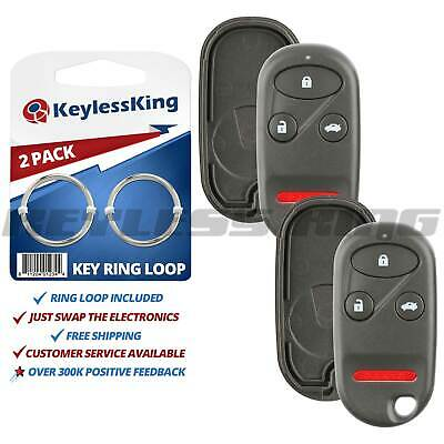APDTY 145024 Keyless Remote Case Repair Replaces 68000603AD 68001705AC