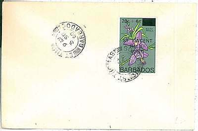 POSTAL HISTORY -  BARBADOS : COVER 1980 - Saint THOMAS