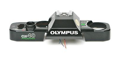 Top Plate For Olympus Om40 Film Camera. Used Spare Parts.