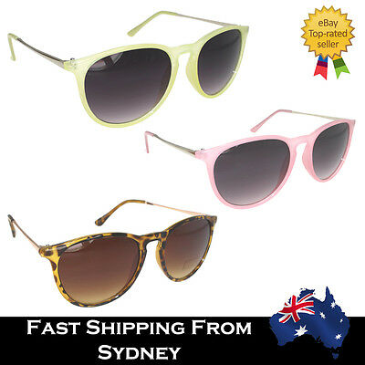 Men Women Sunglasses Wayfare Aviators Round Retro Vintage Pink Green Tortoise