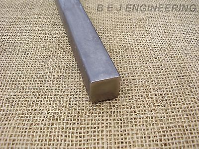 Black Mild Steel Square Bar 40mm x 40mm - 100mm long