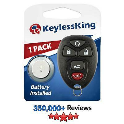 New Remote Start Keyless Entry Key Fob Clicker Control Power SUV for 15913415