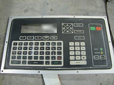 Advanced Videojet Operator Interface Panel Keypad Csi Kyb Csykyb 355060-01
