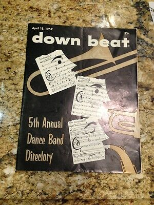 Down Beat April 18, 1957 5th Annual Dance Band Directory
