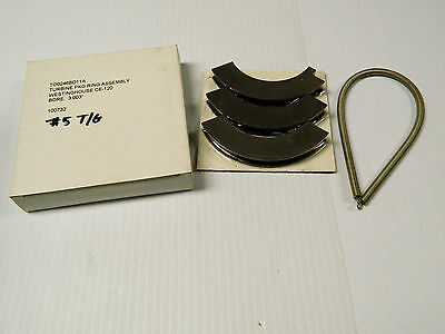 "New Westinghouse Turbine Pkg Ring Assembly To0246Bd11A Ce-120 3.003"" Bore 100732"
