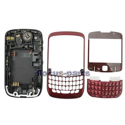 Full Housing Frame Middle Chassis Cover + Battery Door For Blackberry Curve 8520