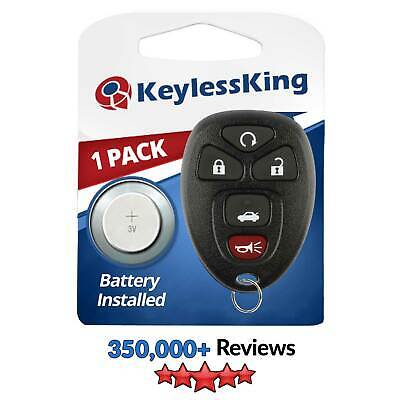 New Remote Start Keyless Entry Key Fob Clicker Transmitter Control for OUC60270