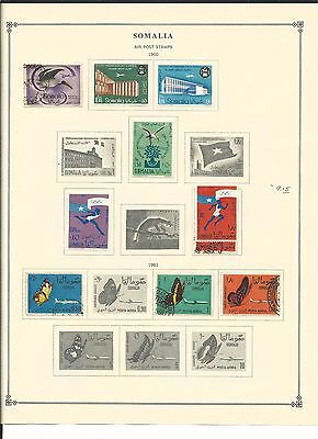 Somalia 1931 to 1973 Collection on Scott International Pages, SCV $143