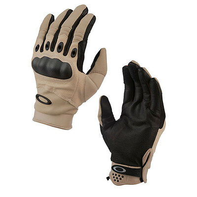 Brand New Genuine Oakley SI Assault Gloves New Khaki All Sizes FREE Delivery