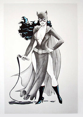 Mel Ramos - Cat Woman #2 - 2012, Pop Art Grafik Lithografie, Luxus