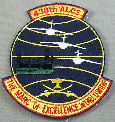 US Air Force Patch 438th Airlift Control Squadron / 438th ALCS