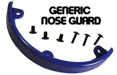 NOS Generic NOSE GUARD Skateboard Nose Bone Style Guard BLUE