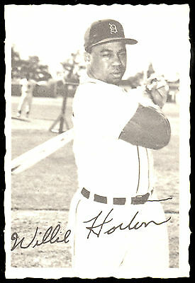 1969 Topps Opc O Pee Chee Deckle Edge Willie Horton Ex-Nm Detriot Tigers