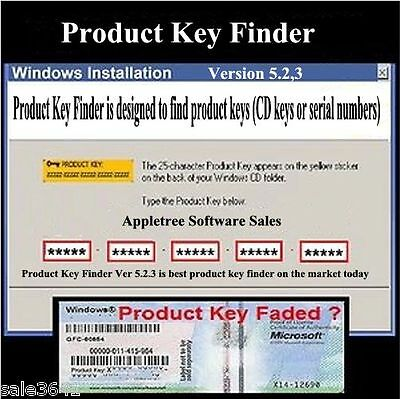RECOVER LOST WINDOW Product Key and Office 2003/2007 Product Key--CD
