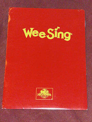Press kit for Wee Sing series children's features w/ 1 b&w still photo