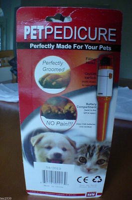 Pedi Paws Scare Your Pet? New PETPEDICURE Made Specially for Small Dogs and Cats