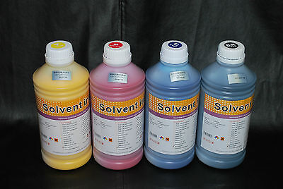 Solvent ink for Xaar Printers (382 printhead) (4 color) US fast shipping