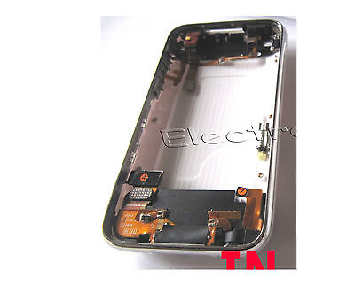 Apple iPhone 3Gs 32GB Fascia Housing Back Cover Parts Battery Repair Part White