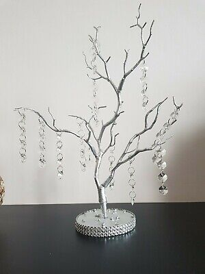 Crystal  wedding tree manzanita tree guest table size wedding table centrpiece