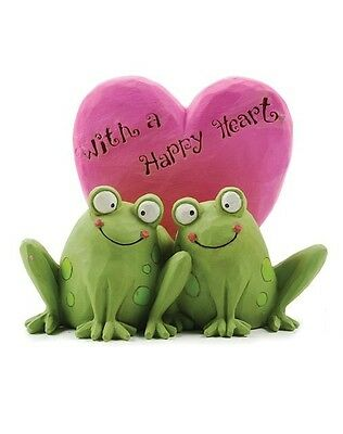 Blossom Bucket--With a Happy Heart Frogs   *So Cute*