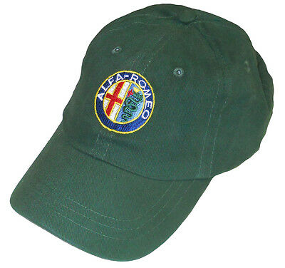 ALFA ROMEO embroidered hat - green body